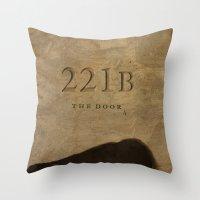 No. 6. 221B Throw Pillow