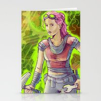 Steampunk Goddess Stationery Cards