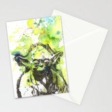 May the Force be with You Yoda Star Wars Stationery Cards