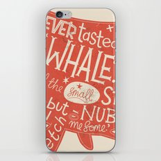 'How the Whale Got His Throat' iPhone & iPod Skin