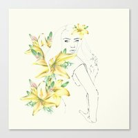 in spring Canvas Print