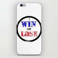 WIN OR LOSE? iPhone & iPod Skin