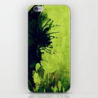 Circle of flowers II iPhone & iPod Skin