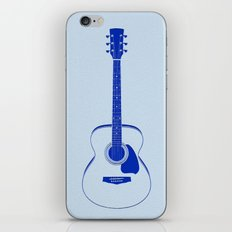 Minimalistic Guitar iPhone & iPod Skin