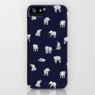 Indian Baby Elephants In… iPhone (5, 5s) Slim Case