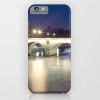 Bridges of Paris by Night iPhone 6 Slim Case