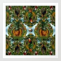 Tropical III Art Print