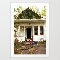 (broken) dream house Art Print