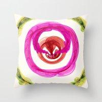 Inner Power Nebula Throw Pillow