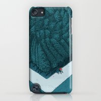iPod Touch Cases featuring Blue Silent by Andrea Dalla Barba