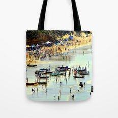 Rowing Regatta Tote Bag