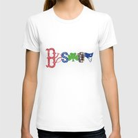boston T-shirts featuring Boston by Michela Deck