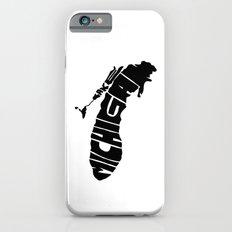 Typographic Lake Michigan iPhone 6s Slim Case