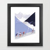 Mountain Chase Framed Art Print