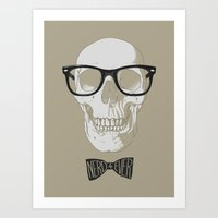 nerd4ever Art Print