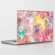 Laptop & iPad Skin featuring Flower Carpet(32). by Mary Berg