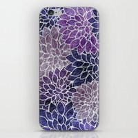 Floral Abstract 11 iPhone & iPod Skin