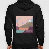 Pink Sky Mountain Hoody