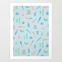 Bathroom Art Print