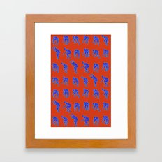 Gully Creepa - Scary Berry Framed Art Print