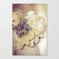 The Gingerbread People Canvas Print