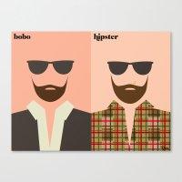 la barbe Canvas Print