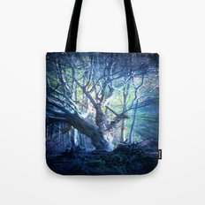 Light Stricken Moody Blues. Tote Bag