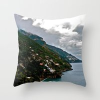 Amalfi Coast, Italy Throw Pillow