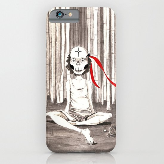 Death Wears a Mask iPhone & iPod Case