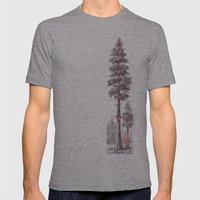 Granny's Hobby Mens Fitted Tee Athletic Grey SMALL