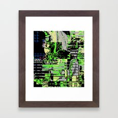 The Unleashal Of Azazel Framed Art Print