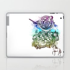 strange unicorn garden Laptop & iPad Skin