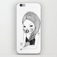 Tell me you love me iPhone & iPod Skin