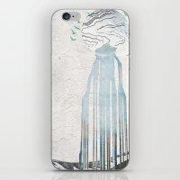 Moon Spring Fall iPhone & iPod Skin