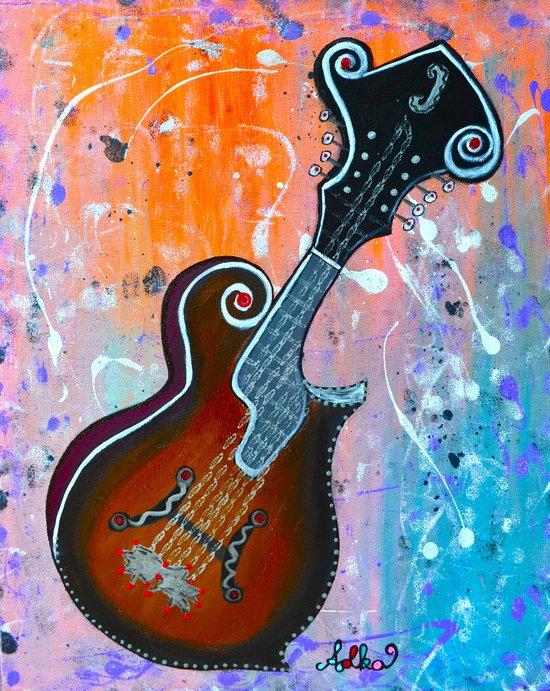 Mandolin Serenade Art Print