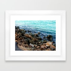 Layers in nature Framed Art Print