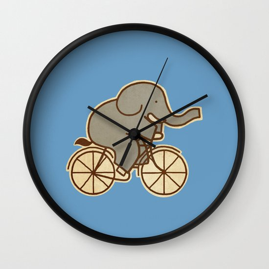 Elephant Cycle  Wall Clock