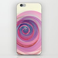 Ring Nebula Abstract  iPhone & iPod Skin