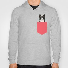 Montana - Border Collie gifts for dog people and dog lovers perfect gifts for a dog person.  Hoody