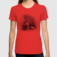Centurion  Womens Fitted Tee Red LARGE