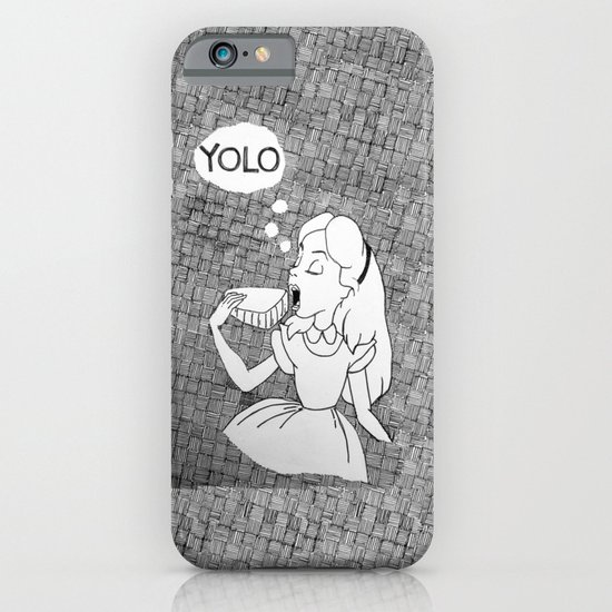 YOLO Alice iPhone & iPod Case