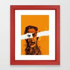 Burning Man Framed Art Print