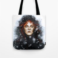 KISSED BY FIRE Tote Bag