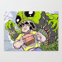 Arthur: The World's Strongest Boy Canvas Print