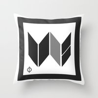 We Are The United -  Log… Throw Pillow