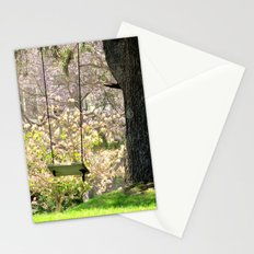 Close your eyes and your there Stationery Cards