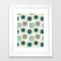 Flower Abstract Framed Art Print