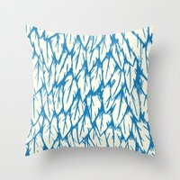 Feathered Fringe Throw Pillow