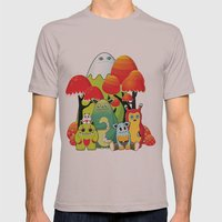 The Gang Mens Fitted Tee Cinder SMALL