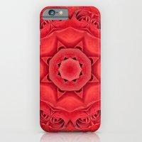 Beautiful Red Rose Manda… iPhone 6 Slim Case